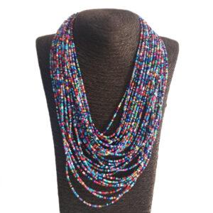 Collar Largo Multicapas Mostacilla-BIS-042