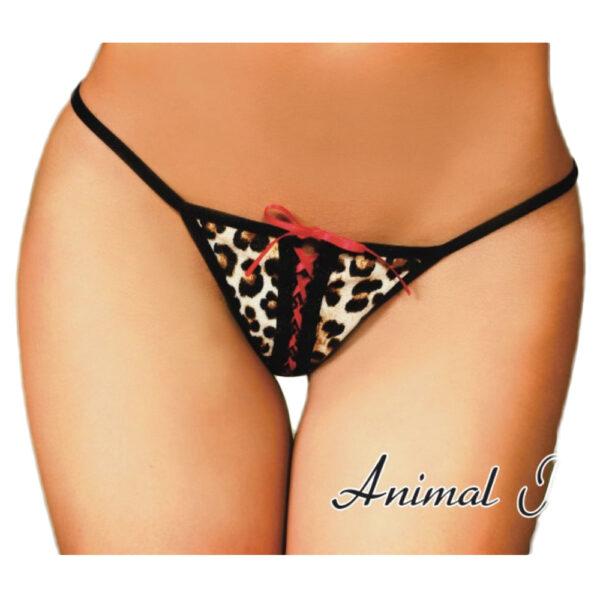 Tanga Animal Print