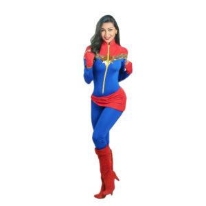 Disfraz Capitana Marvel Mujer