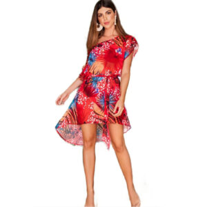 Vestido Asimetrico 7111
