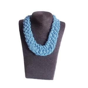 Collar Azul Acero 118